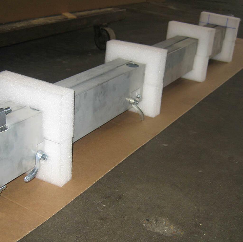 6.大型铝焊件的封装;焊接、加工和装配
