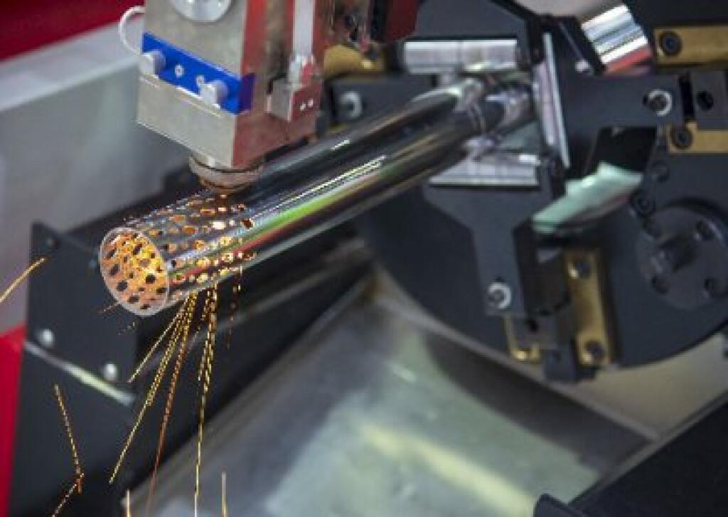 光纤管激光切割不锈钢管