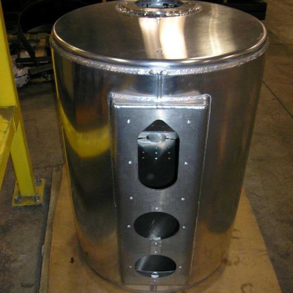 圆柱铝液压柜